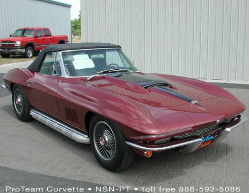 corvette project for sale
