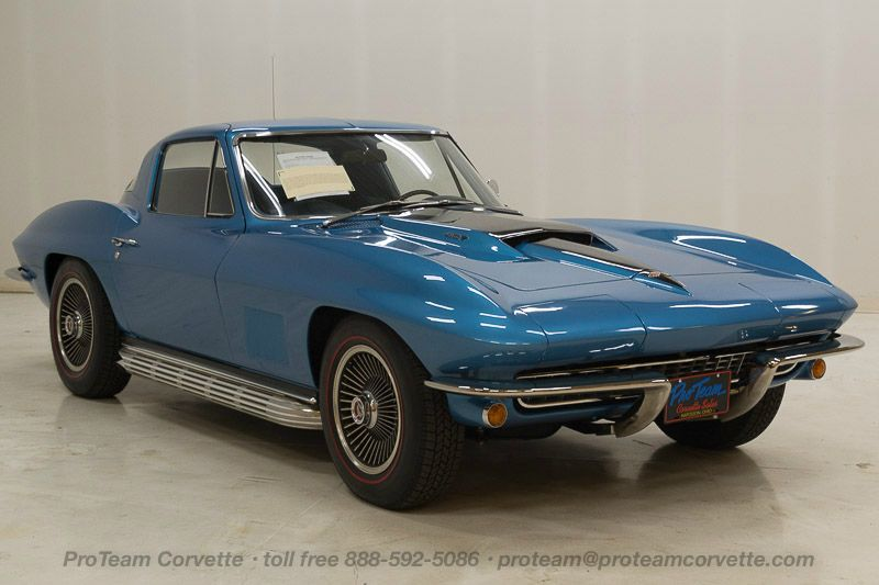 1967 corvettes classic cars from proteam for 1967 split window corvette