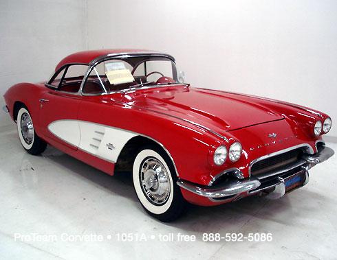 Classic Corvette For Sale 1961 1051a
