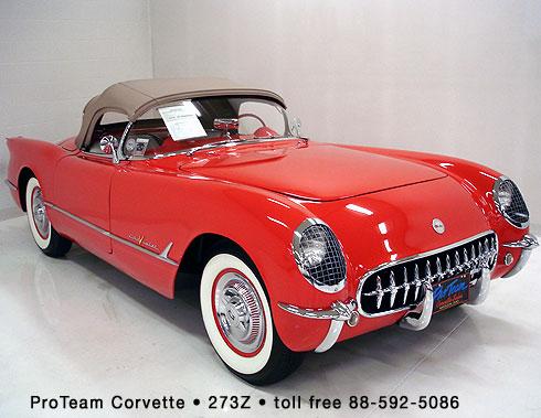 Classic Corvette For Sale 1955 273z
